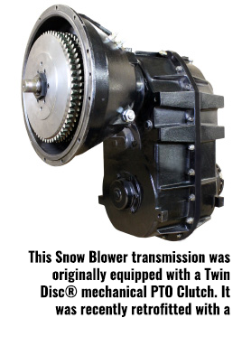 Logan Self Adjusting Bell Housing PTO Clutches Now available for Field Retrofit into 2005 and older Oshkosh H Series Blowers