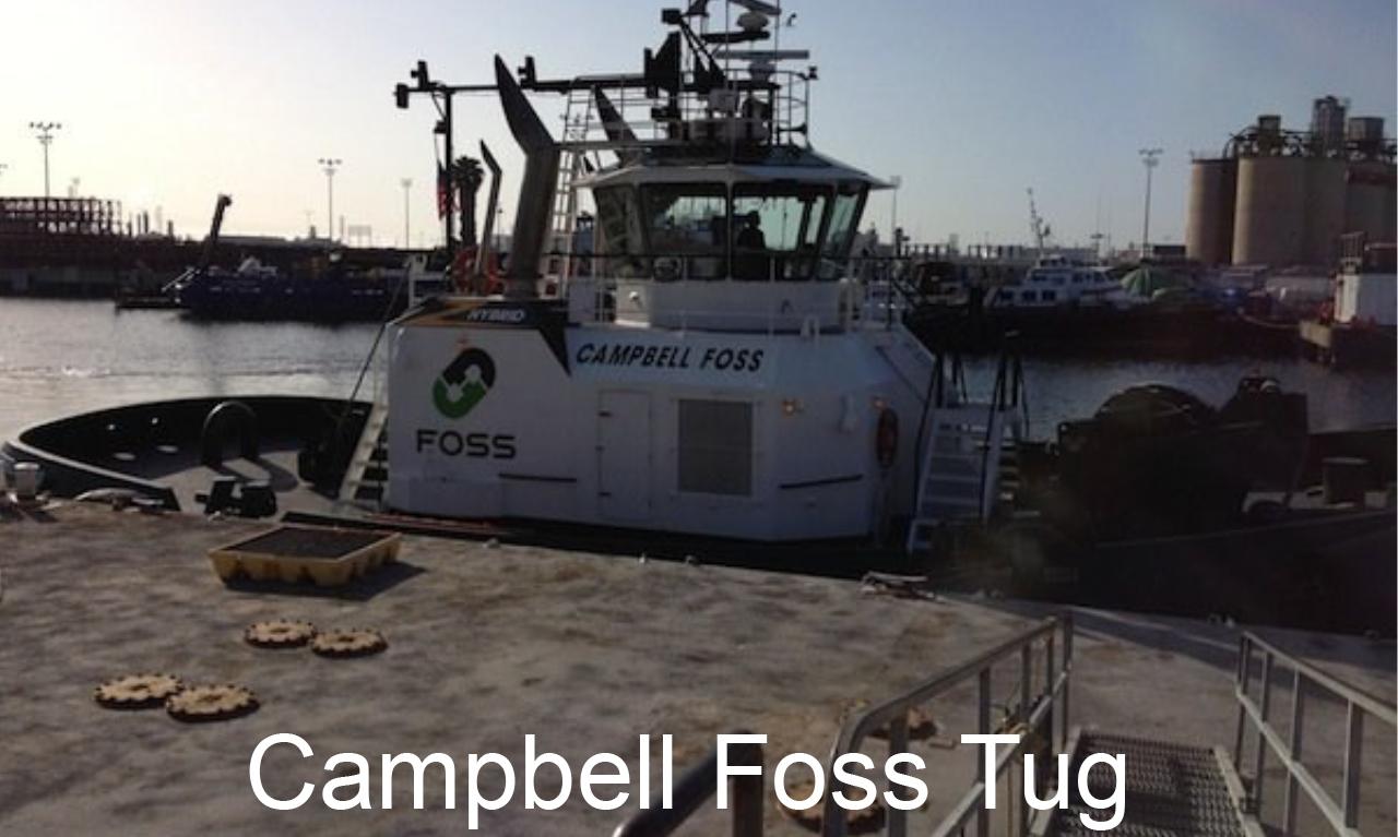 Foss Hybrid Tug Project Campbell Foss