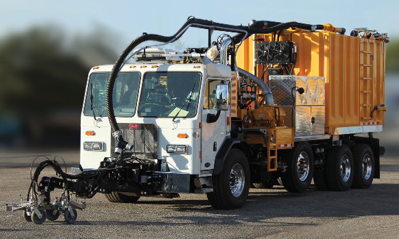 Logan Bell Housing PTOs For Runway Cleaning / Airport and Roadway Marking Removal Equipment