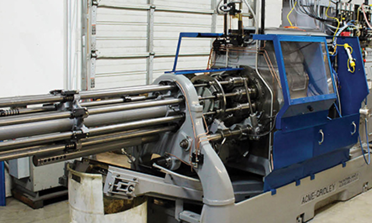 Acme Gridley Screw Machine  Rebuilder Improves Cycle time by 33 Percent