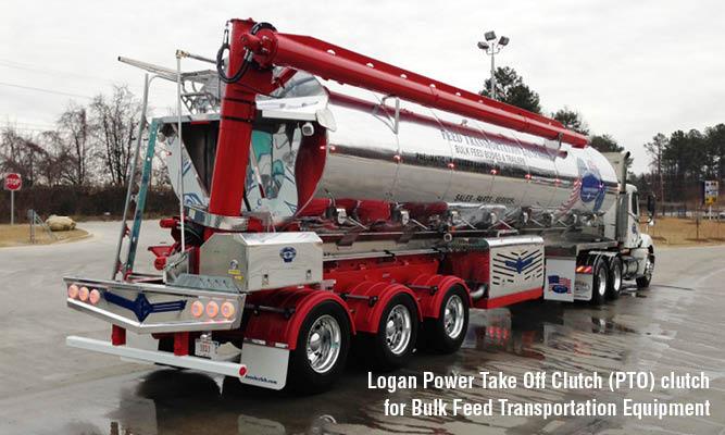 Logan Power Take Off Clutch (PTO) clutch for Bulk Feed Transportation Equipment