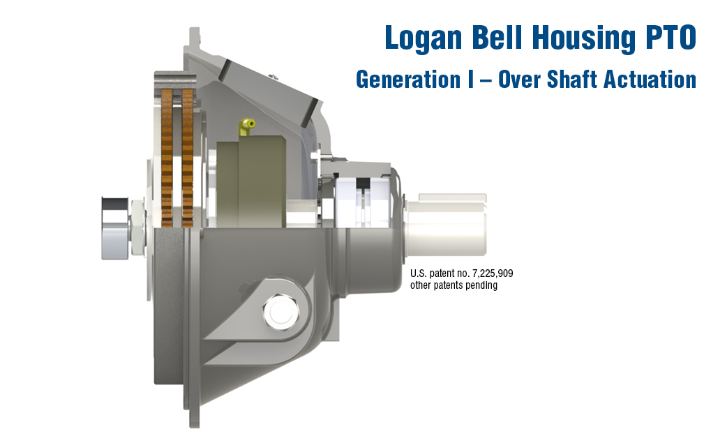Logan Bell Housing PTO Generation I Over Shaft Actuation