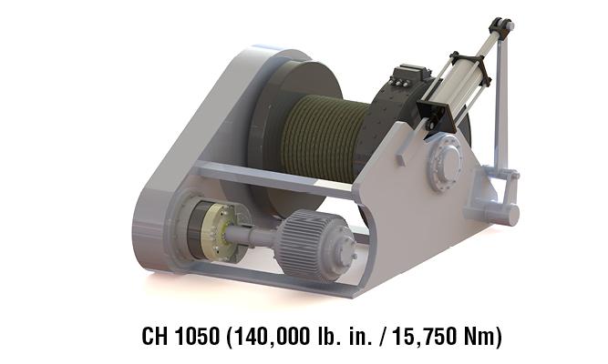 CH 1050 (140,000 lb. in. / 15,750 Nm)