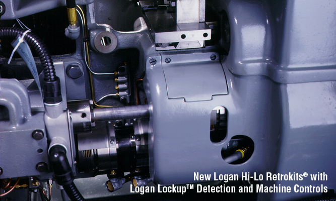 New Logan Hi-Lo Retrokits® with Logan Lockup Detection and Machine Controls