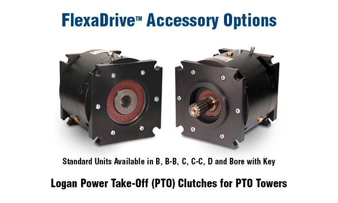 Logan Power Take-Off (PTO) Clutches for PTO Towers
