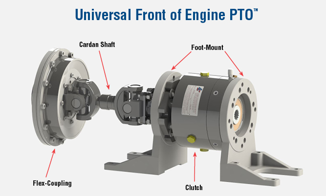 Universal Front of Engine PTO