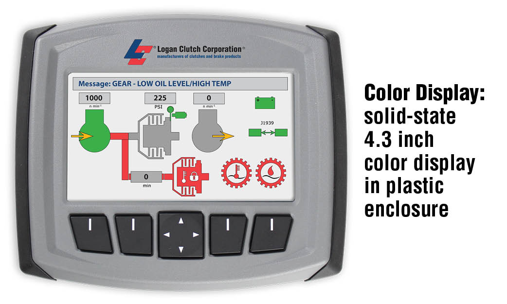 Color Display: solid-state 4.3 inch color display in plastic enclosure