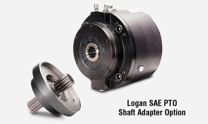 Logan SAE PTO Shaft Adapter Option