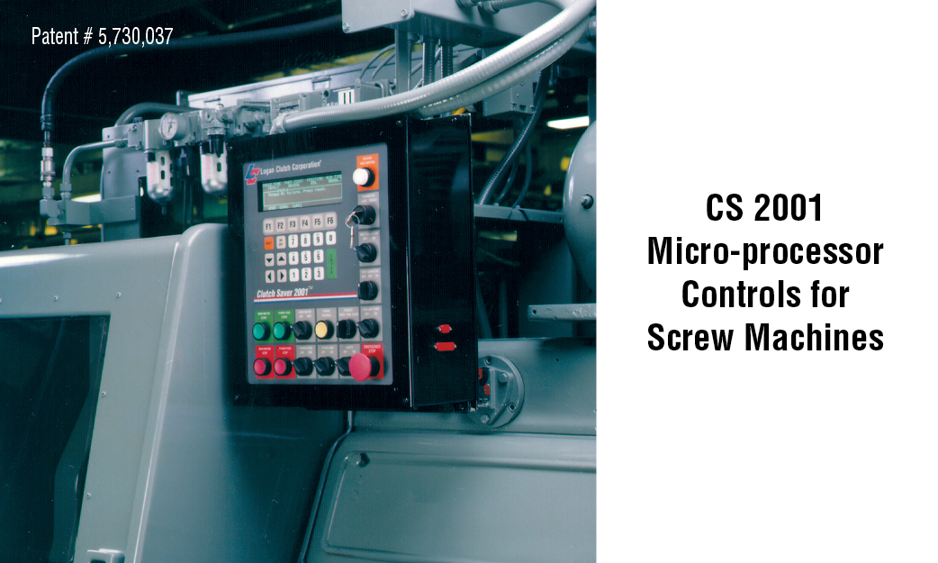 CS 2001  Micro-processor Controls for  Screw Machines