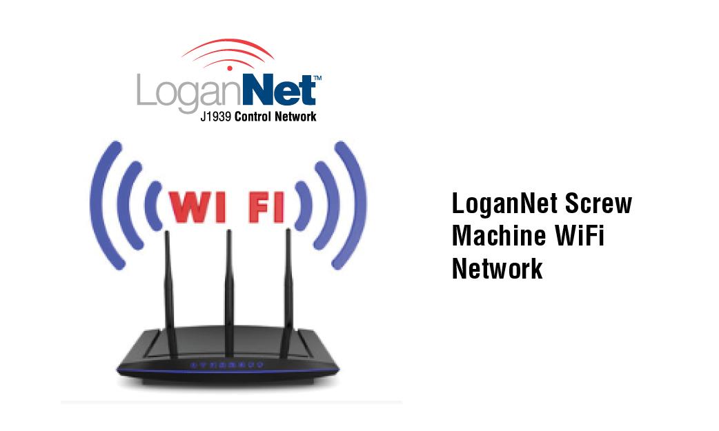 LoganNet Screw Machine WiFi Network