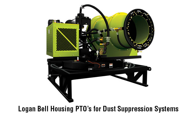 Logan Bell Housing PTO for Dust Suppression Systems