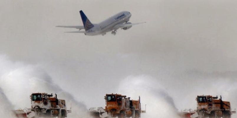 Cleveland Hopkins Airport Snowblowers