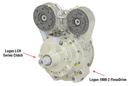 2 Position Pump Drive 100 HP | Logan Clutch