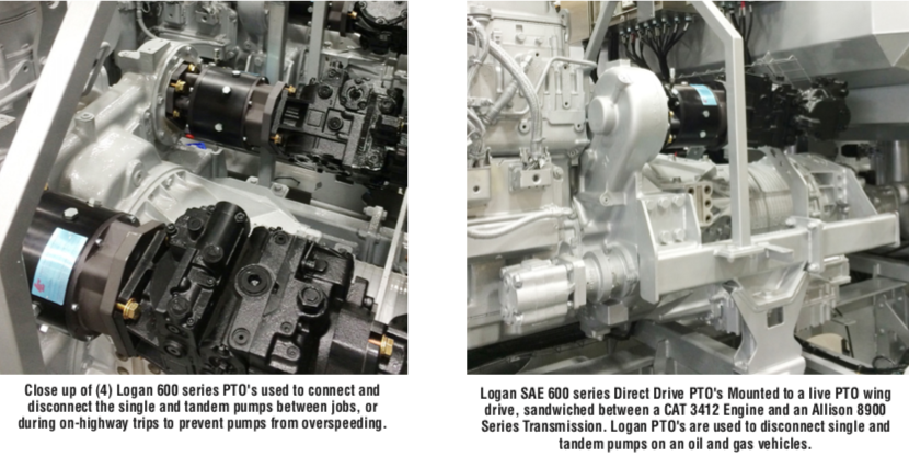 Logan FlexaDrives™ and Power Take-Off (PTO) Clutches for