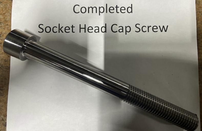 Custom Socket Head Cap Screws