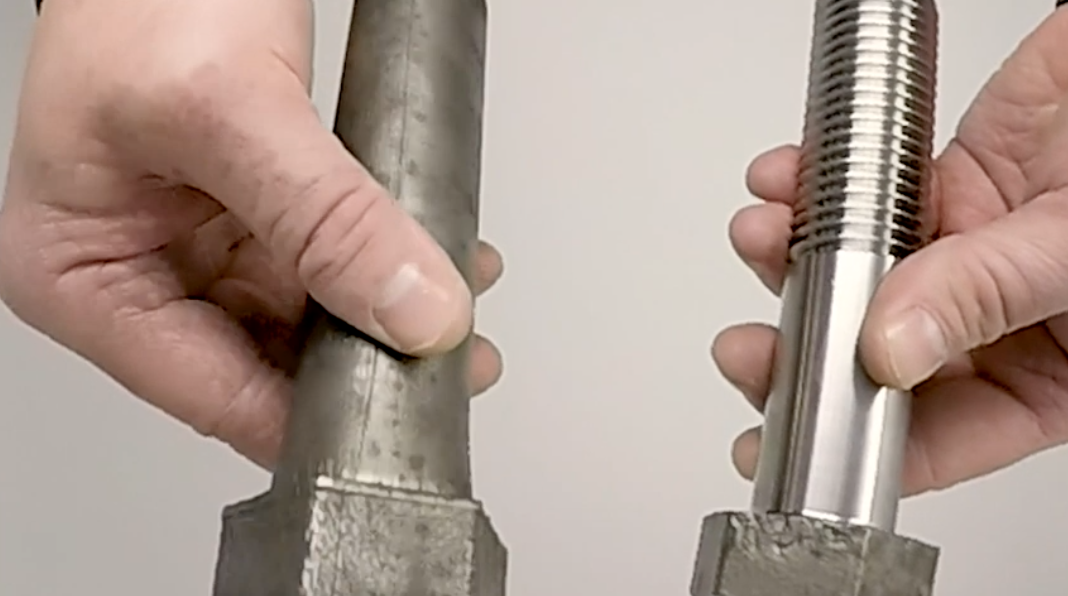The Benefit of Near Net Formed Parts with Master Bolt