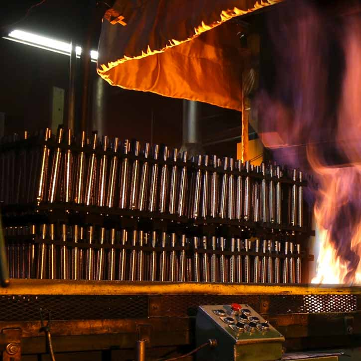 Heat treating services at Master Bolt