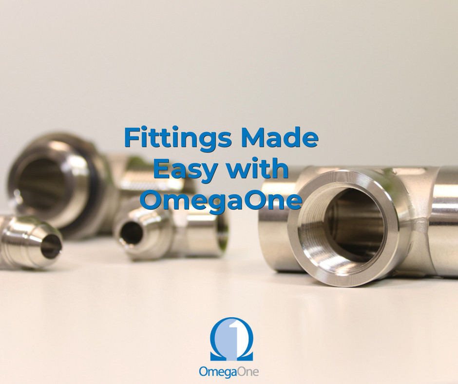 Fittings made easy with OmegaOne | Cleveland, Ohio