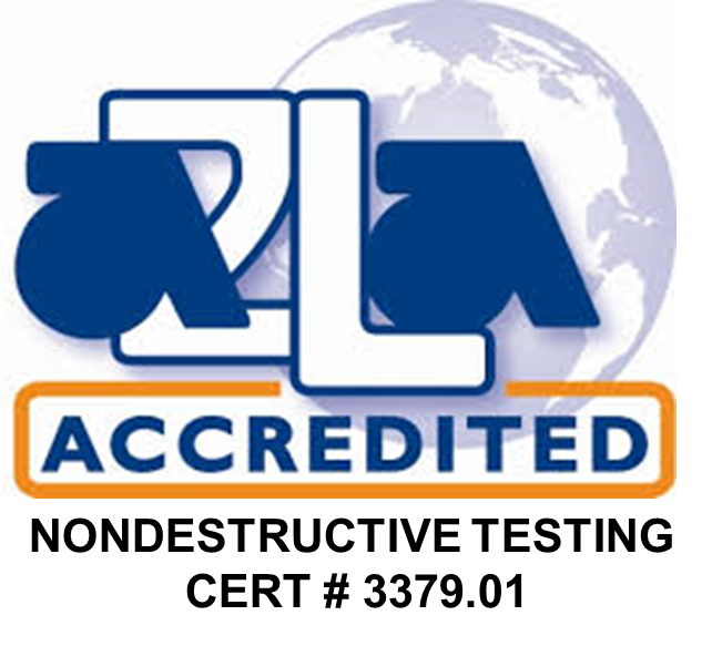 Image of American Association for Laboratory Accreditation logo with Orbit Industries certification number 3379.01