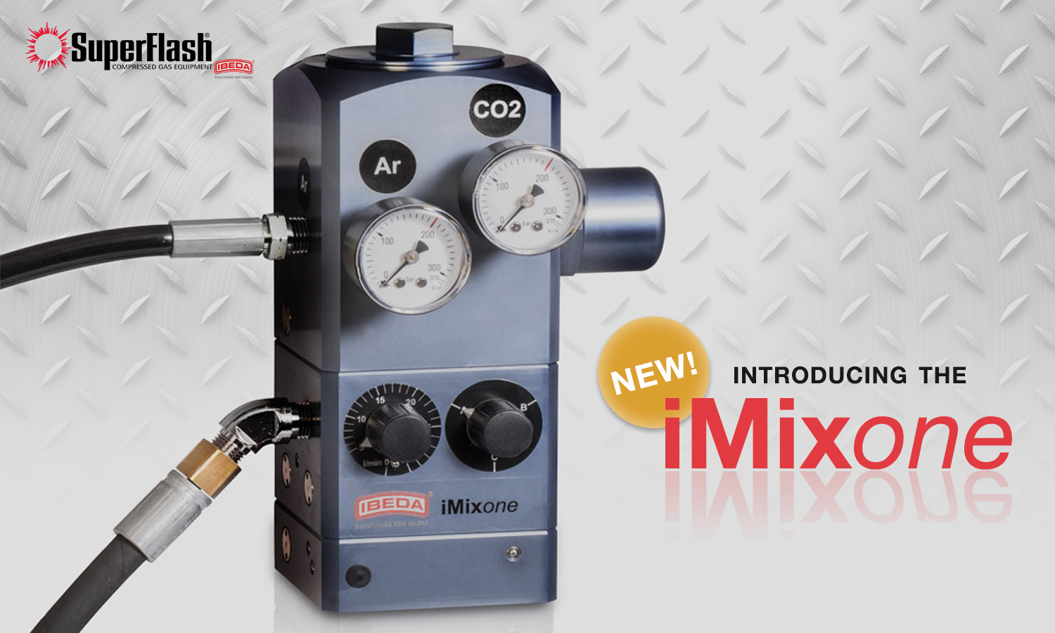 Introducing the iMixone Gas Mixer!
