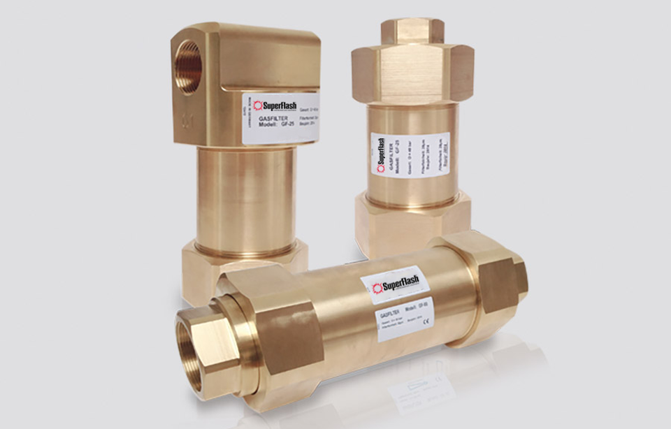 SuperFlash Inline Fuel Gas and Oxygen Filters