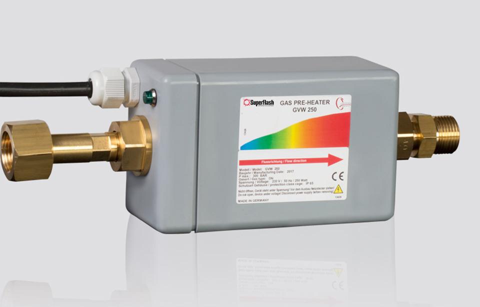 Gas Preheater: GVW 250