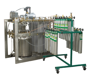 Liquid to Gas Refilling System