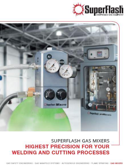 SuperFlash Gas Mixer Brochure