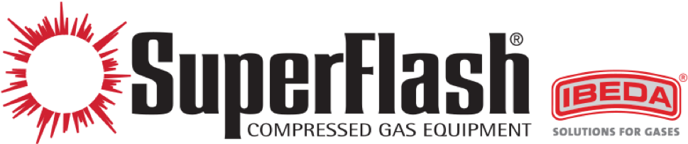 Superflash Compressed Gas Equipment Logo
