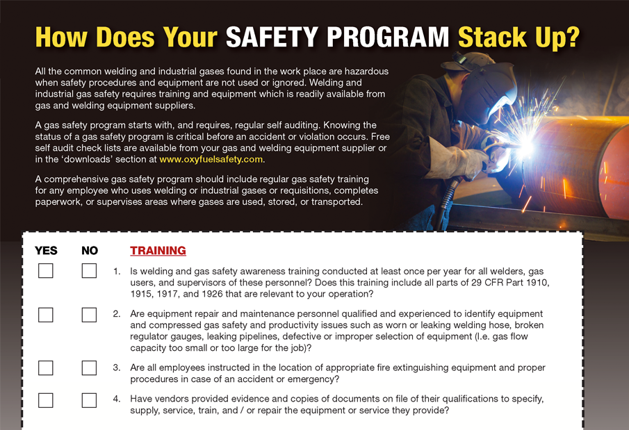 How Does Your Safety Program Stack Up