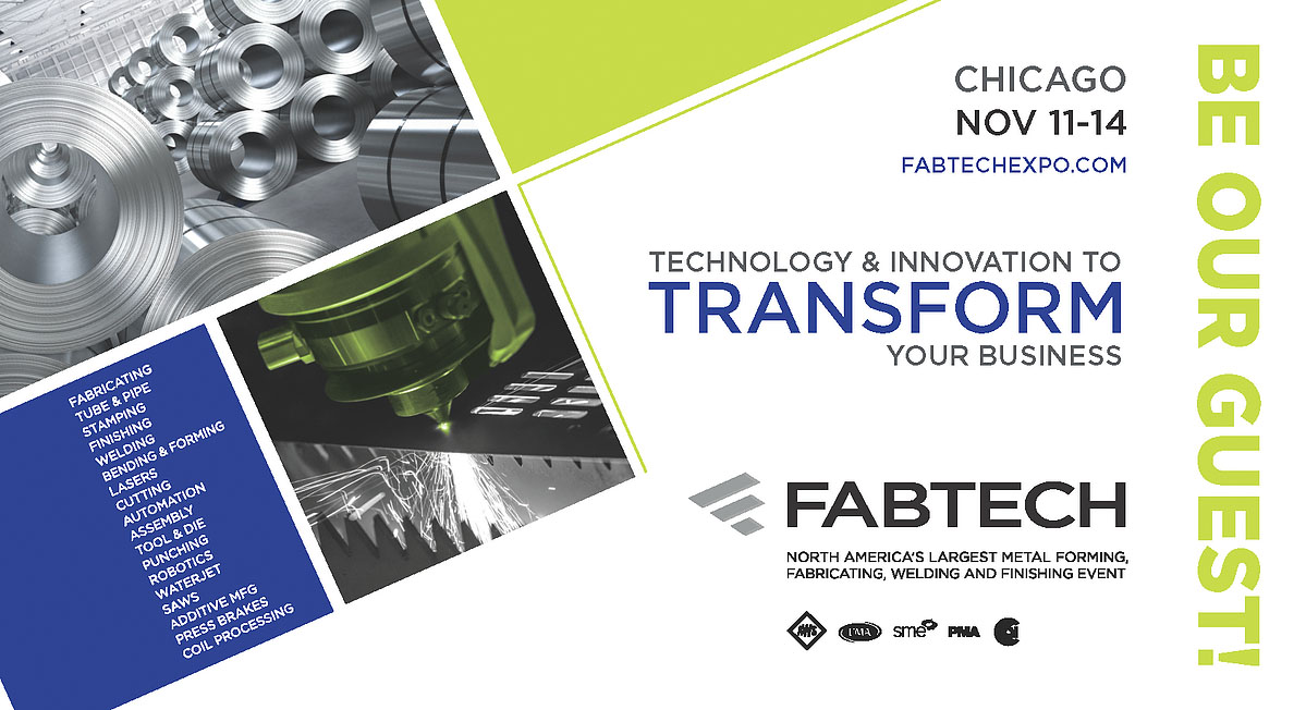 Join Us for FabTech