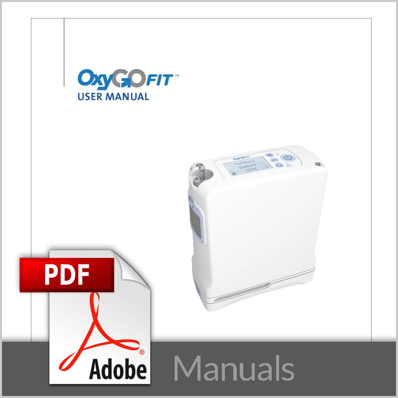 OxyGo FIT Manuals