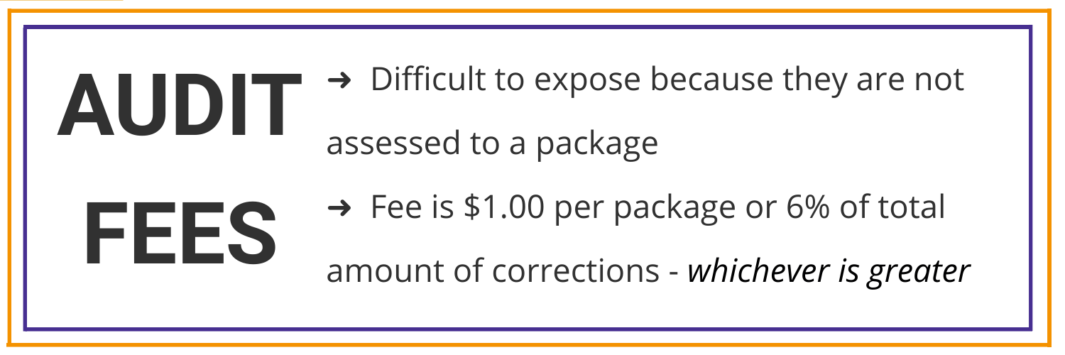 Audit Fees are the #4 Hidden Fee Hiding In Your Parcel Invoice - Expose Cost Savings with Parcel BI