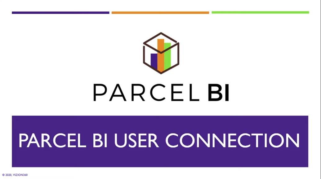Parcel BI User Connect Webinars