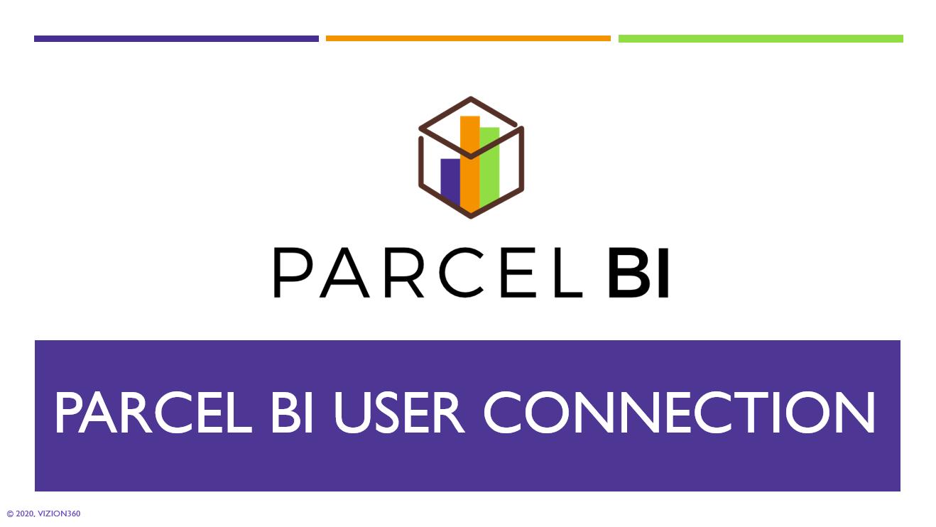 Parcel BI User Connection