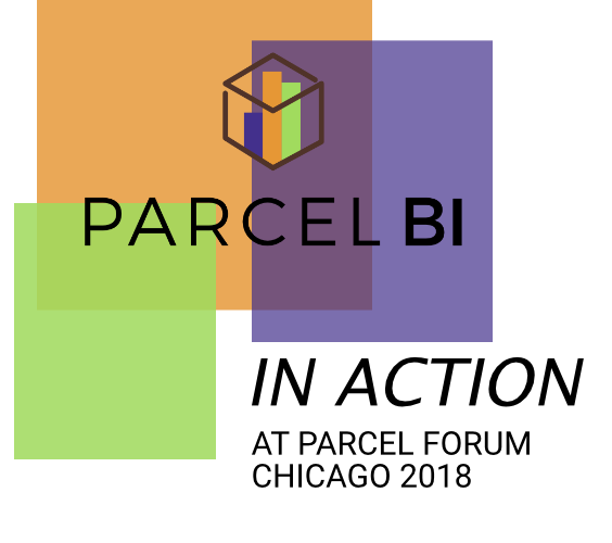 Parcel BI at Chicago's Parcel Forum 2018. Leader of Parcel Spend Analytics Tools