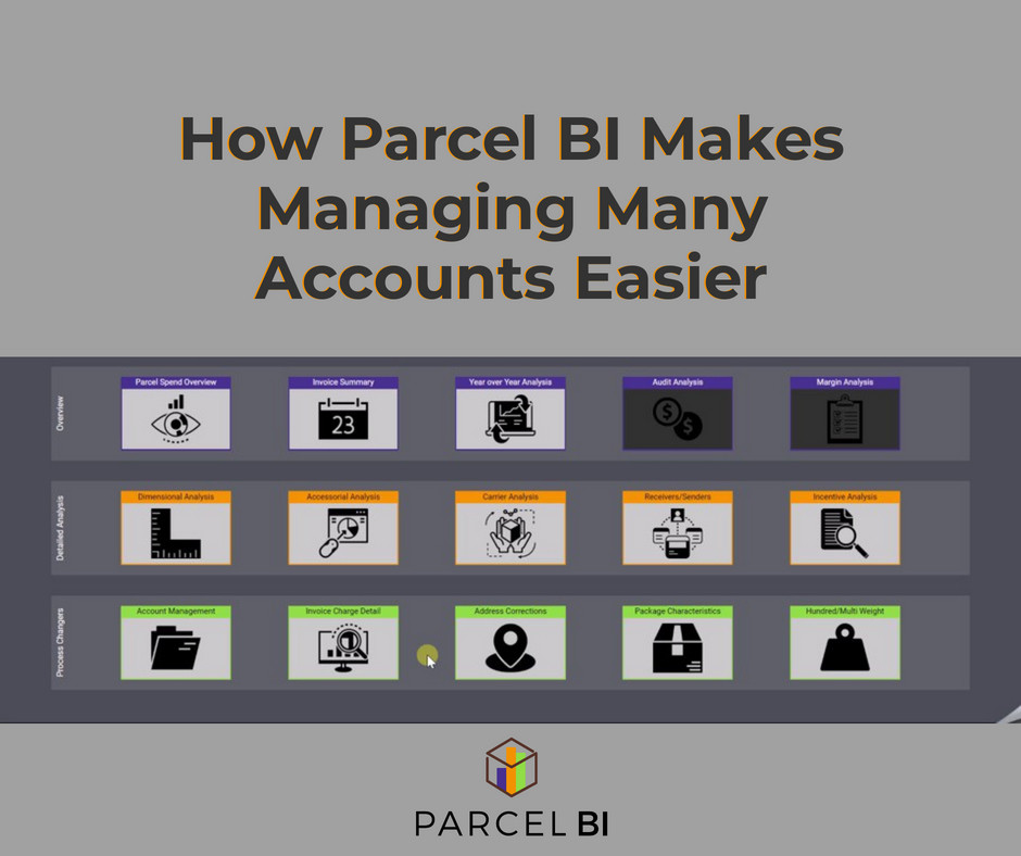 How Parcel BI Makes Managing Many Accounts Easier