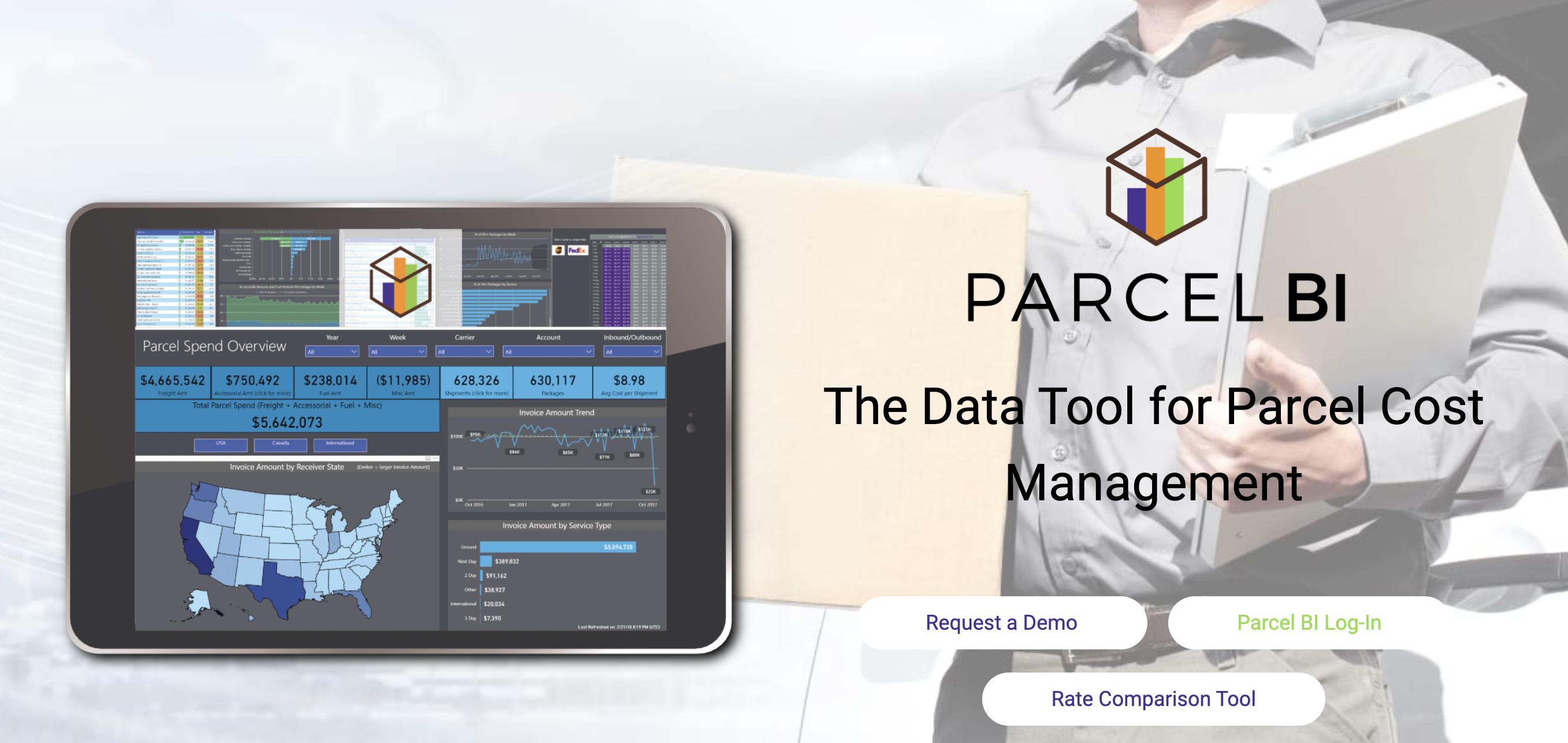 data management | parcel spend | Parcel BI