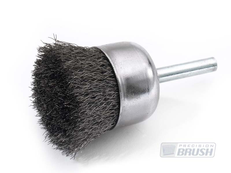 Hollow Center End Brushes Carbon Steel Wire