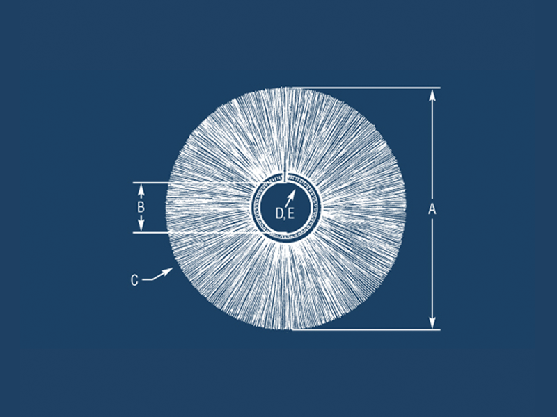 Design an Outside Disk Brush