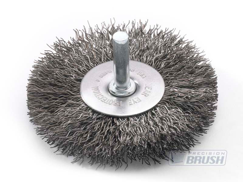 Radial End Brushes Carbon Steel Wire