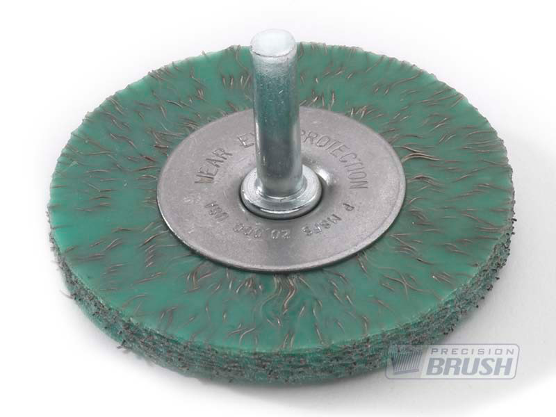 Radial End Brushes Encapsulated Carbon Steel Wire