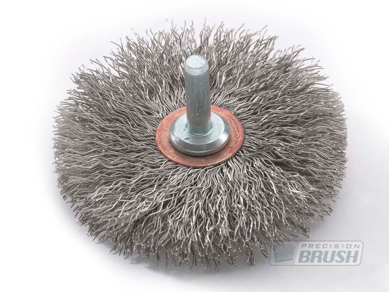 Radial End Brush Stainless Steel Wire