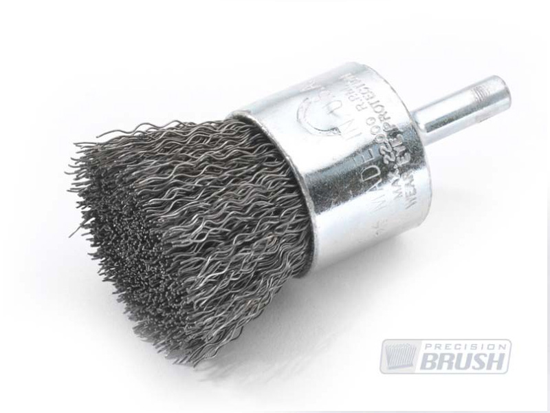 Solid End Brush Carbon Steel Wire