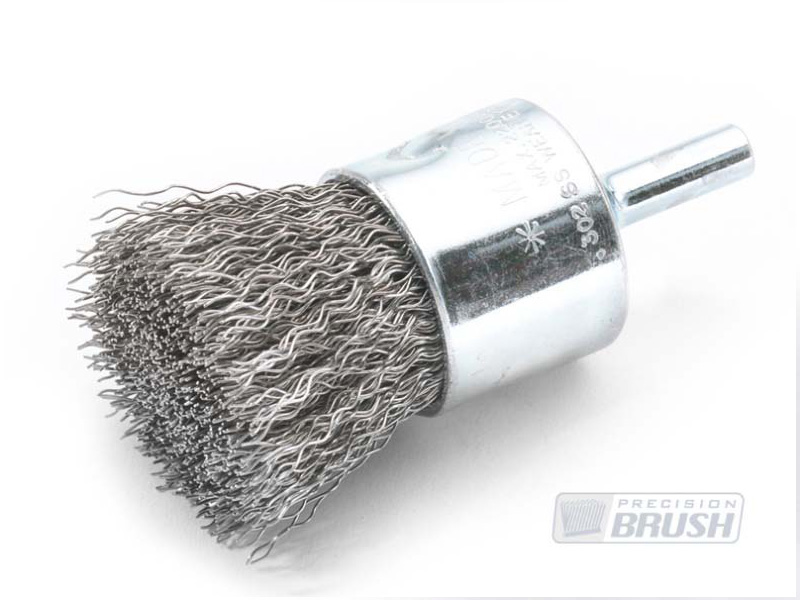 Solid End Brush Stainless Steel Wire