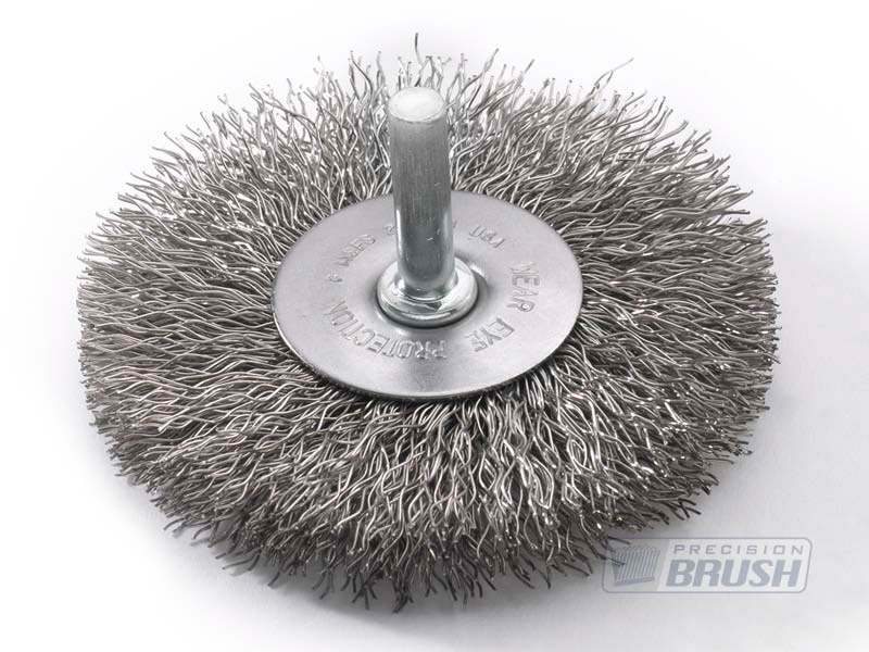 Special Radial End Brushes Stainless Steel Wire