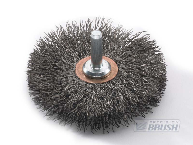 Special Radial End Brushes, Carbon Steel Wire