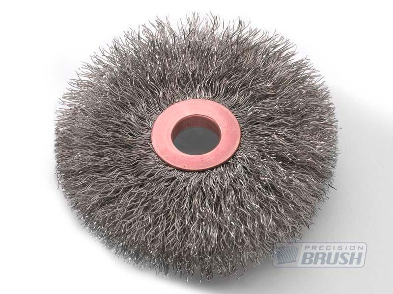 Stainless Steel Wire Copper Center Wheel Brush