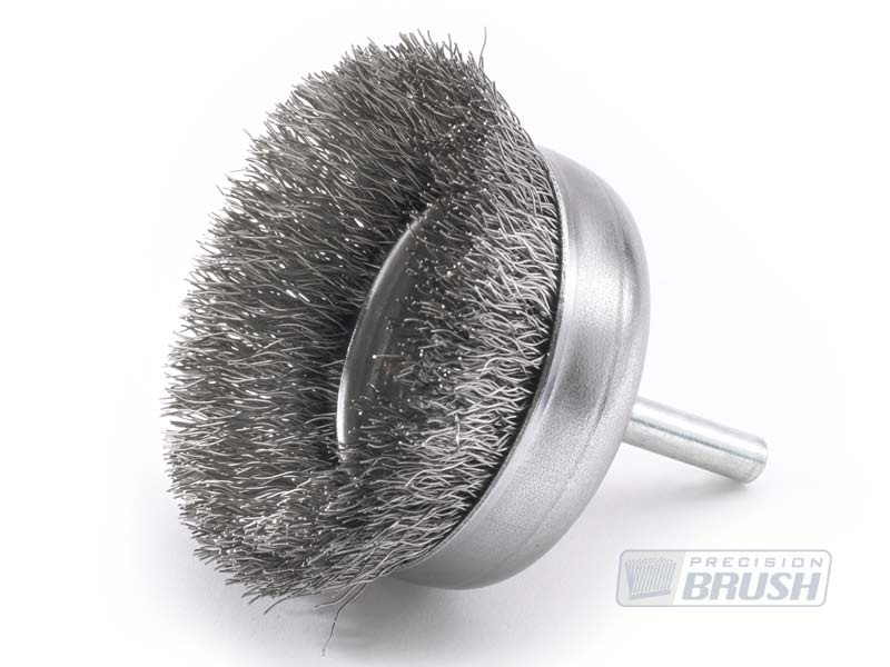 Wire Cup Brushes Stainless Steel Wire