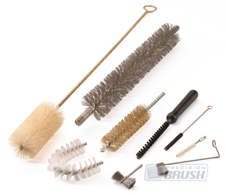 Custom Twisted in Wire Brushes by Precision Brush Co.